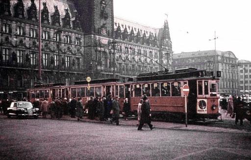 Straßenbahn 1958