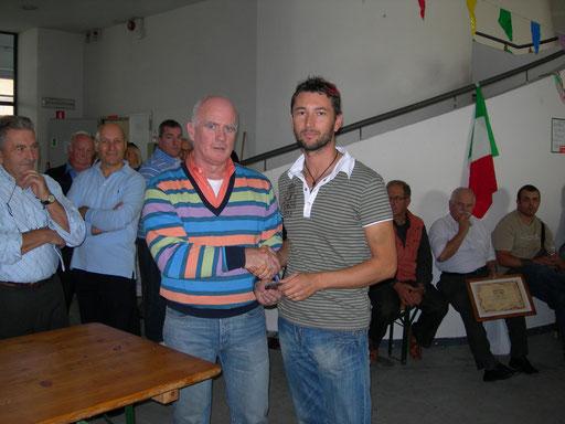 Medaglia d'oro per Paolo Bianchini