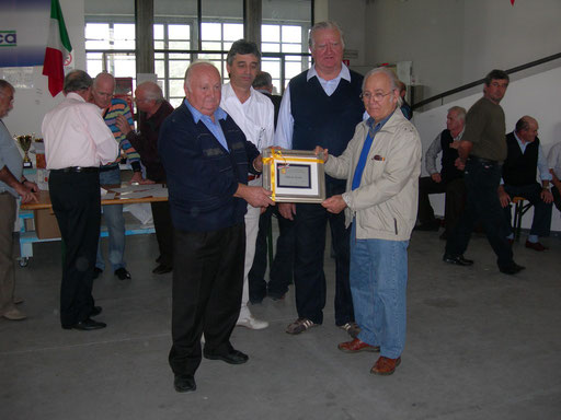 Diploma per Albertino Marchetti Cerea 2010