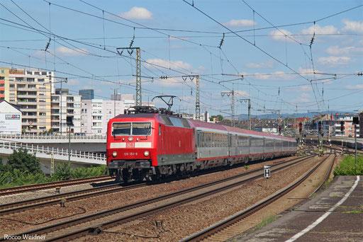 120 150 mit IC 118 Innsbruck Hbf/CH - Münster(Westf) Hbf, Ludwigshafen 26.06.2017