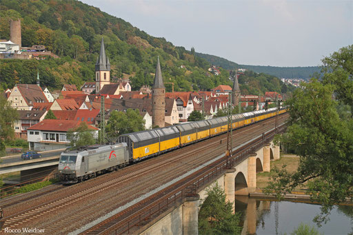 185 539 mit DGS 59884 Regensburg Ost - Imsumer Deich