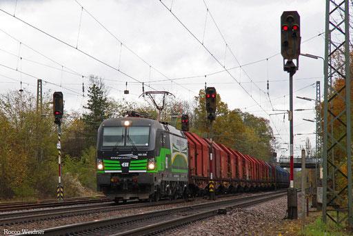 193 235 mit DGS 46198 Passau Grenze - Dillingen(Saar) (Sdl.), Luisenthal(Saar) 10.11.2016