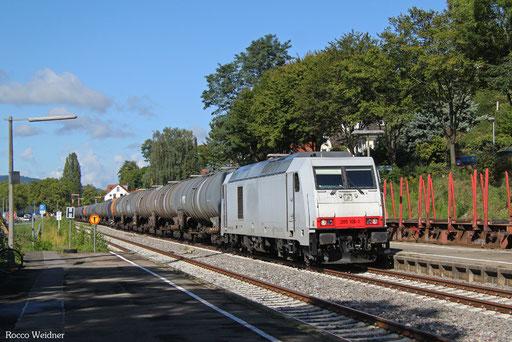285 106 mit DGS 95234 Singen(Hohentwiel) - Ulm Rbf (Sdl., Rastatt Umleiter), Überlingen Therme15.09.2017