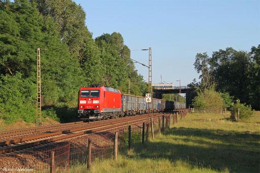 185 191 mit EZ 45678 Homburg(Saar) Hbf - Belval-Usines/L, Dillingen(Saar) 04.07.2017