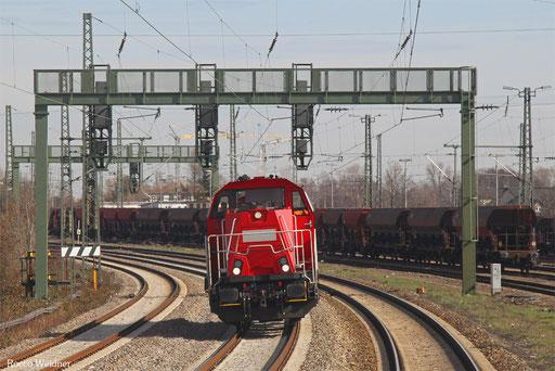 261 313 als Tfzf(D) 93483 Fulda Gbf - Saarbrücken Rbf Nord (Sdl.), Neustadt(Weinstr.) 11.03.2017