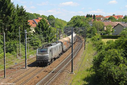 BB37029 mit DGS 47212 Duisburg-Wedau - Forbach/F, Stiring-Wendel 22.05.2017
