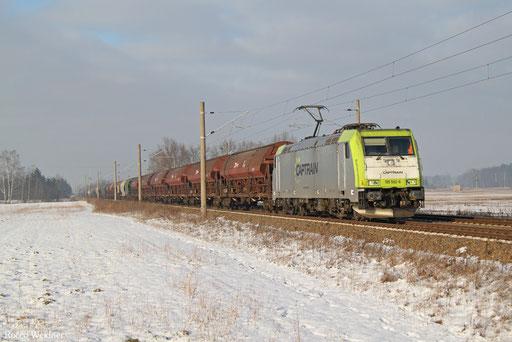 185 562 mit DGS 69349 Hamburg Hohe Schaar - Pirna Gbf, Schmerkendorf 21.01.2017