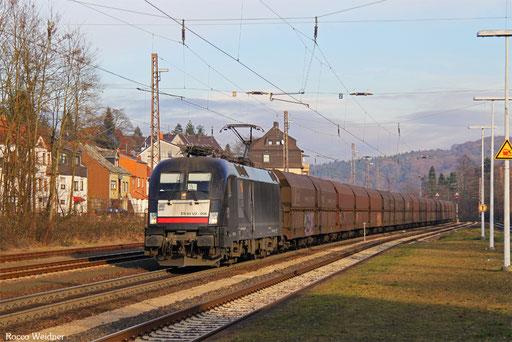 182 508 mit DGS 91117 Neunkirchen(Saar) Hbf - Duisburg-Ruhrort Hafen, Dudweiler 09.12.2016