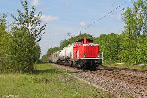 212 265 + 212 298 mit Bauz 92002 Neustadt(W) - Türkismühle (Sdl. Spritzfahrt), Fischbach-Camphausen 24.05.2017