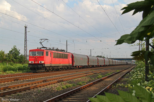 155 222 mit GB 41213 Vittel/F - Worms Gbf, Frankenthal (Pfalz) 06.07.2017
