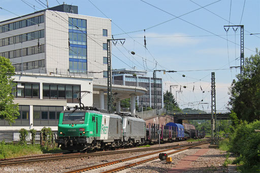 BB37026 mit DGS 49238 Mülheim-Styrum - Forbach/F (Valenciennes), Saarbrücken 28.05.2017