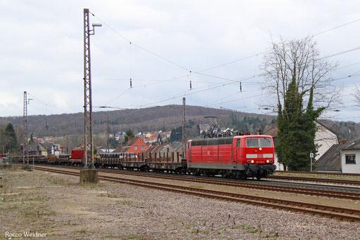 181 218 mit EK 55390 Neunkirchn(Saar) Hbf - Saarbrücken Rbf Nord, Dudwiler 22.03.2017