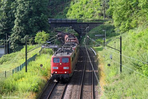 DT 151 083 + 151 147 mit GM 48745 Maasvlakte Oost - Fürstenhausen, Saarbrücken 22.07.2016