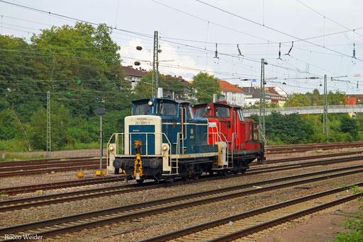 363 680 (363 829) als Tfzf(D) 93743 Mannheim Rbf Gr.G - Bous(Saar) (Sdl.), Saarbrücken-Burbach 16.08.2017