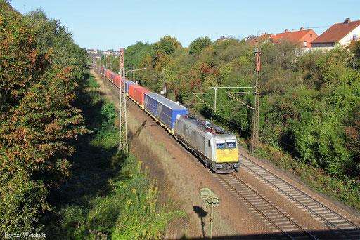 186 307 mit XP 49249 Cerbere/F - Einsiedlerhof, Neunkirchen-Sinnerthal 29.09.2016