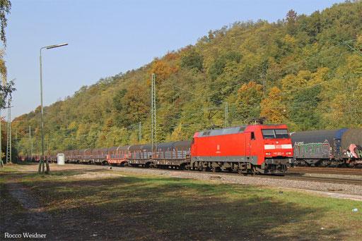 152 022 mit GM 40423 Völklingen - Neunkirchen(Saar) Hbf, Luisenthal(Saar) 16.10.2017