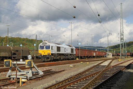 77 001 mit EK 55883 Saarbrücken Rbf West - Neunkirchen(Saar) Hbf, 18.10.2016