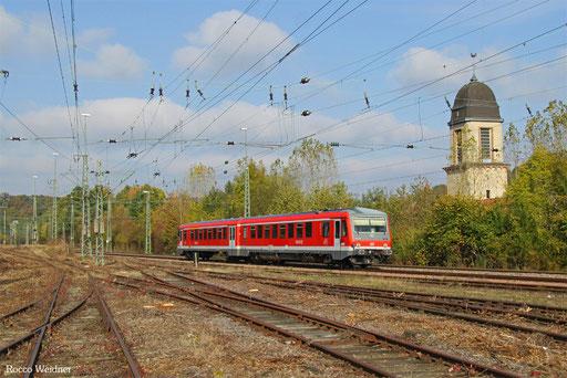 628 466 als RB 12222 Lebach-Jabach - Saarbrücken Hbf, 23.10.2016