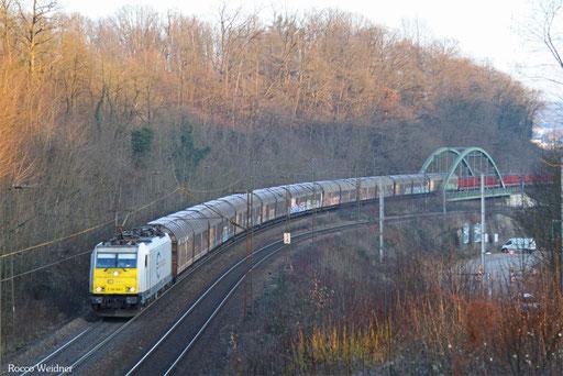 186 168 mit EZ 44210 Saarbrücken Rbf West - Blainville Damelevières/F, 18.01.2017