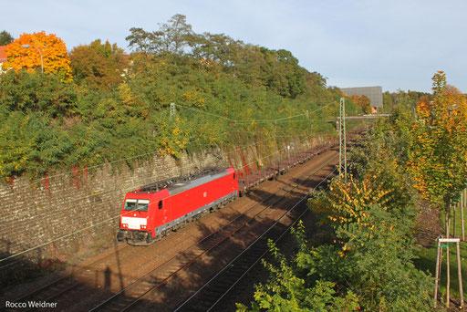186 327 mit GM 61879 Saarbrücken Rbf West - Völklingen, 17.10.13