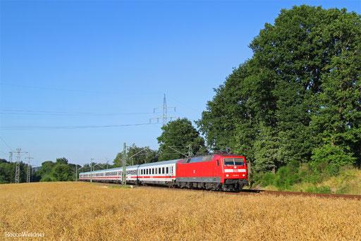120 151 mit IC 2058 Stuttgart Hbf - Saarbrücken Hbf, Kirkel 19.07.2016