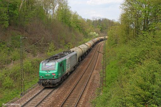 BB 37021 DGS 44436 Saarbrücken Rbf Nord - Forbach/F, 02.05.2013