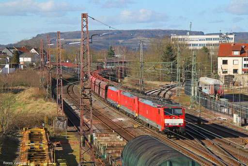 DT 189 069 + 189 047 (189 046) mit GM 48721 Maasvlakte Oost/NL - Dillingen Hochofen Hütte, Dillingen(Saar) 16.02.2018