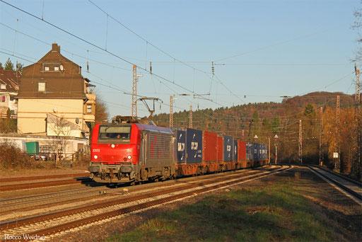 BB37013 mit DGS 44428 Ludwigshafen BASF Ubf - Forbach/F (Sdl.), Dudweiler 29.11.2016
