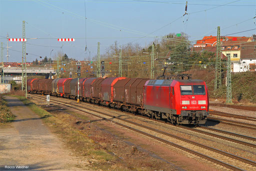 145 014 mit GM 49210 Bremen Stahlwerke - Forbach/FR (St Brice Courc) (Sdl. Flachgewalzte Erzeugnisse), Burbach 25.02.2018