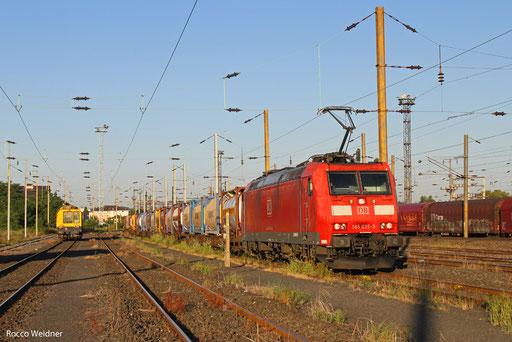 185 035  mit KT 41291 (Barcelona centre) Forbach/F - Ludwigshafen (Rhein) BASF Ubf, 02.08.2013