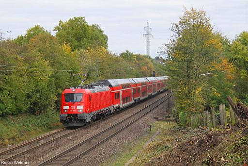 102 002 mit ST-D 27770 Donauwörth - Trier Hbf (Sdl.), Altenkessel 11.10.2017