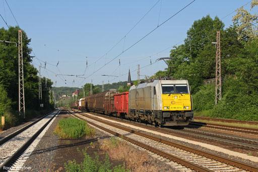 186 341 mit EZ 52807 Saarbrücken Rbf Ost - Mannheim Rbf Gr.K, Dudweiler 17.06.2013