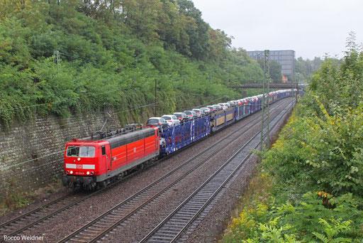 181 214 mit EK 55980 Saarbrücken Rbf West - Fürstenhausen, 12.09.2013