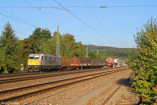 186 168 mit EZ 44264 Mannheim Rbf Gr. N- Forbach/F, Hochspeyer 24.09.2016