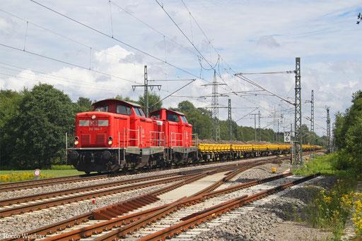 DT 212 094 + 212 323 mit Bauz 92692 Bruchsal - Homburg(Saar) (Sdl.), Kidsbach 18.08.2017