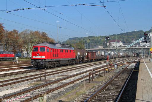 232 259 mit EZ 46133 Mannheim Rbf - Zürich Limmattal RB/CH (Chiasso/I) (Sdl. Frachten, Rastatt Umleiter), Ulm Hbf 21.09.2017