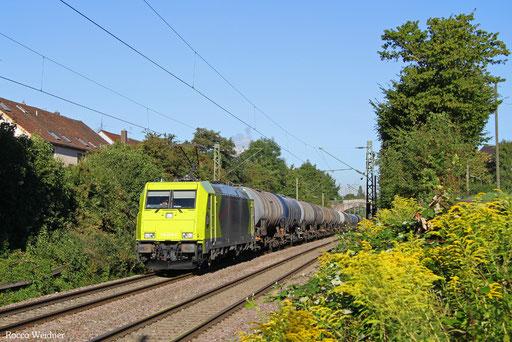 119 008 mit DGS 52571 Ehrang Nord - Ludwigshafen-Rheingönheim, Saarbrücken-Burbach 23.08.2016