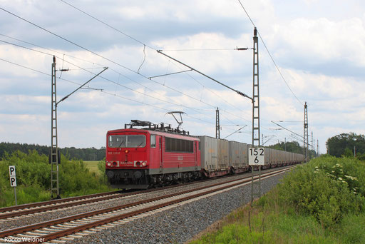 155 133 mit GA 47306 Puchov/SK - Hannover-Linden, Beyern 15.06.2013