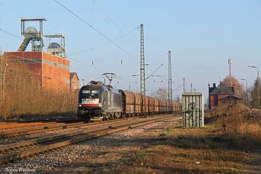 182 508 mit DGS 91117 Neunkirchen(Saar) Hbf - Duisburg-Ruhrort Hafen, Luisenthal(Saar) 06.12.2016