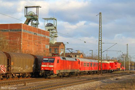 152 131 mit Hilfz 99883 Fulda - Dillingen Hochofen Hütte (Sdl.), Luisenthal(Saar) 17.01.2017