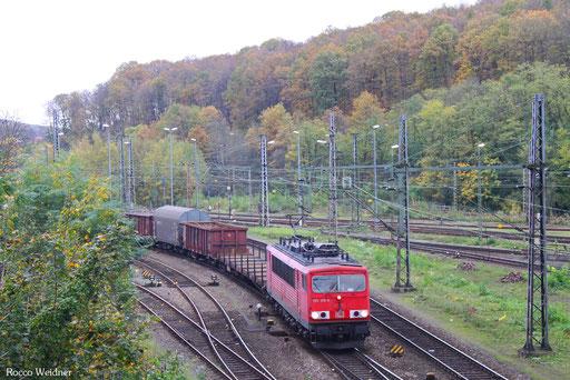 155 126 mit EZ 45664 Gremberg Gsf - Bettembourg/L, Saarbrücken 28.10.2017