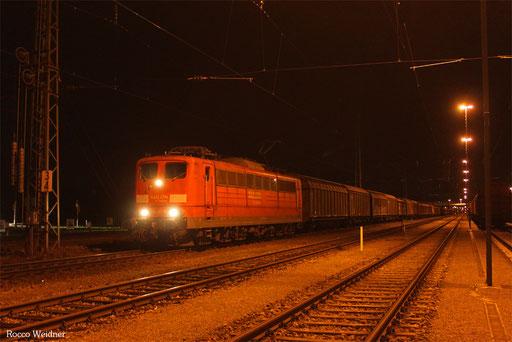 151 141 mit GA 62250 Kassel Rbf - Einsiedlerhof (Sdl. Material), Mannheim Rbf Gr.G 03.04.2014