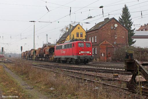 140 790 mit GM 61828 Dillingen Hochofen Hütte - Völklingen, Bous 11.01.2013