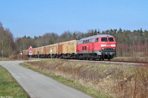 217 012 mit DGS 95477 Westrich - Landstuhl (Sdl.), 17.03.2016