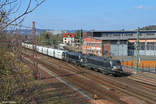 DT 182 514 + 182 518 mit DGS 68772 Moers Gbf - Dillingen Zetrallkokerei (Sdl.), Dillingen(Saar) 24.03.2018