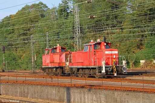 362 941 und 363 662 (z-11.09.2011), Saarbrücken Rbf West 02.09.2016