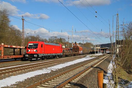 187 111 mit EZ 51914 Mannheim Rbf Gr.G - Saarbrücken Rbf Nord, Dudweiler 17.01.2017