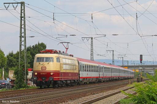 103 113 mit IC 118 Salzburg Hbf/A - Münster, Mannheim 23.08.2013