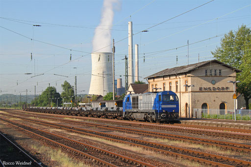 273 003 mit  DGS 95145 Bous(Saar) - Düsseldorf-Rath, Ensdorf(Saar) 02.06.2017