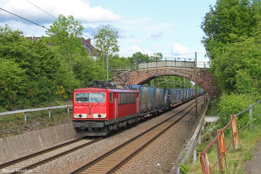 155 015 mit GA 52970 Berlin-Lichterfelde West - Dillingen(Saar), Altenkessel 20.05.2017